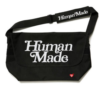 GDC - Human Made×Girls Don't Cry メッセンジャーバッグ