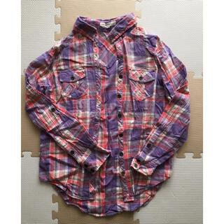 オゾック(OZOC)のOZOC ネルシャツ Mサイズ(シャツ/ブラウス(長袖/七分))