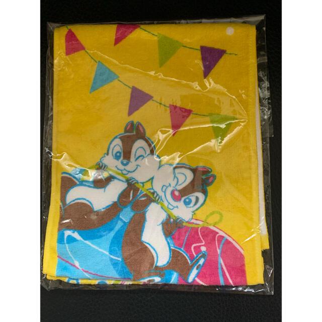 チップ&デール(チップアンドデール)のディズニー 夏祭り 2017 チップ デール タオル パスケース 2点セット エンタメ/ホビーのおもちゃ/ぬいぐるみ(キャラクターグッズ)の商品写真