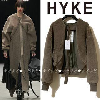 HYKE - HYKE FAUX SHEARLING BOLERO ボア ボレロ ハイク