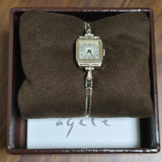 agete - agete☆クラシックブレスレット時計