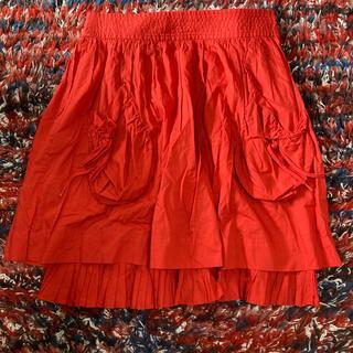 マークジェイコブス(MARC JACOBS)のマークジェイコブス ギャザースカート(ひざ丈スカート)
