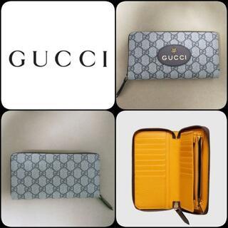 グッチ(Gucci)の【新作商品】GUCCI  GG スプリーム ネオ 長財布 男女兼用 残り1個(長財布)