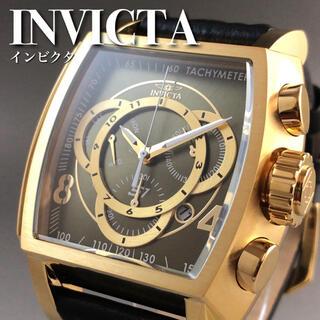 インビクタ(INVICTA)の★定価14万円★オリーブ/インビクタ/メンズ/腕時計AS965A(腕時計(アナログ))