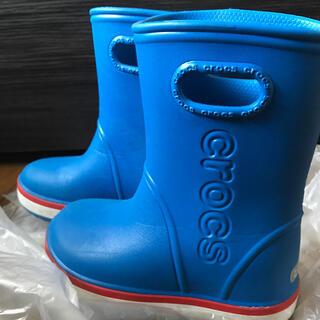 クロックス(crocs)のキッズ☆レインブーツ☆クロックス☆17.5㎝☆長靴(長靴/レインシューズ)