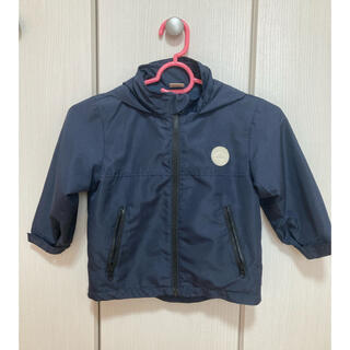プティマイン(petit main)のプティマイン 紺色 100サイズ ウィンドブレーカー(ジャケット/上着)