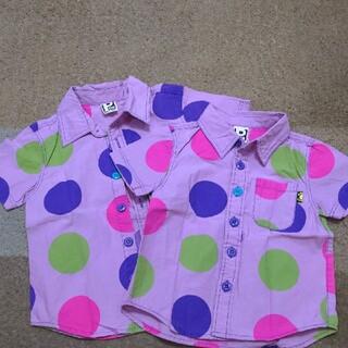 パーティーパーティー(PARTYPARTY)のpartyparty 半袖シャツ 2枚セット(Tシャツ/カットソー)