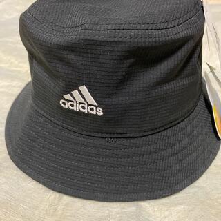 アディダス(adidas)のメンズ★adidas58cm(L)黒色バケットハット(ハット)