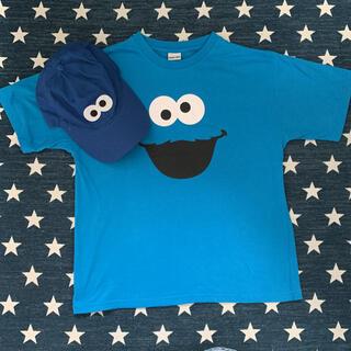 セサミストリート(SESAME STREET)のSESAME STREET セサミストリート クッキーモンスター 2点セット(Tシャツ(半袖/袖なし))