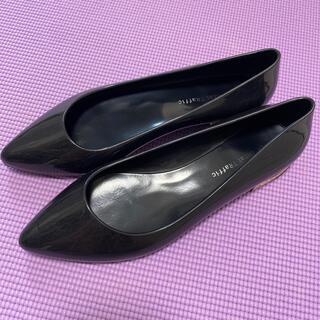 オリエンタルトラフィック(ORiental TRaffic)のoriental traffic 雨用パンプス ブラック(レインブーツ/長靴)