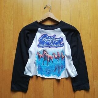 "Ralph Lauren - 80's Vintage ""Bob Segar"" ラグランスリーブロングTシャツ"