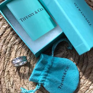 Tiffany & Co. - ティファニー1837  ナローリング シルバー