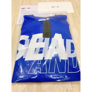 SEA - WIND AND SEA  SEA L/S T-shirt Blue-White