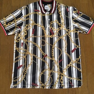 ZARA - ZARA チェーン柄 ポロシャツ