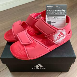 アディダス(adidas)の5/19迄値下げ 新品未使用 アディダス キッズ サンダル 20cm(サンダル)
