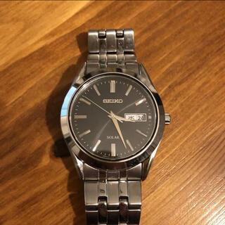 SEIKO - SEIKOセイコー ソーラー腕時計 SOLAR V158-0AZ0