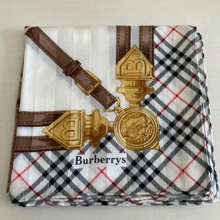 BURBERRY - 未使用 バーバリー 大判ハンカチ スカーフ BURBERRYS  ハンカチーフ