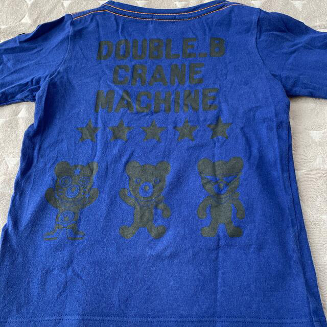 DOUBLE.B(ダブルビー)のダブルB110 キッズ/ベビー/マタニティのキッズ服男の子用(90cm~)(Tシャツ/カットソー)の商品写真