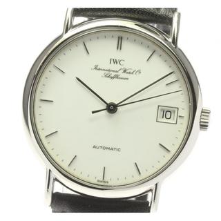 インターナショナルウォッチカンパニー(IWC)のIWC ポートフィノ デイト IW351320 自動巻き メンズ 【中古】(腕時計(アナログ))