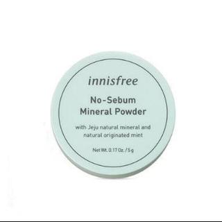 イニスフリー(Innisfree)のinnisfree イニスフリーノーセバム ミネラル パウダー 5G(フェイスパウダー)