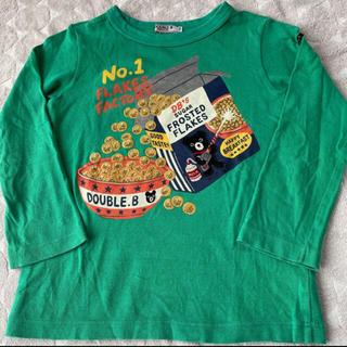 ダブルビー(DOUBLE.B)のダブルB カットソー110cm(Tシャツ/カットソー)