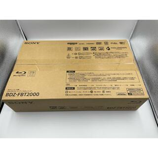 SONY - SONY ブルーレイレコーダー BDZ-FBT2000 新品未開封