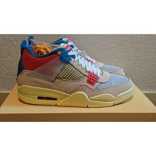 UNION LA Nike Air Jordan 4 Retro SP AJ4(スニーカー)
