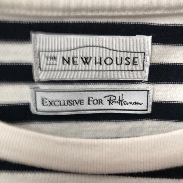 Ron Herman(ロンハーマン)のTHE NEW HOUSE ザニューハウス ロンハーマン別注 トムボーイ レディースのトップス(カットソー(半袖/袖なし))の商品写真