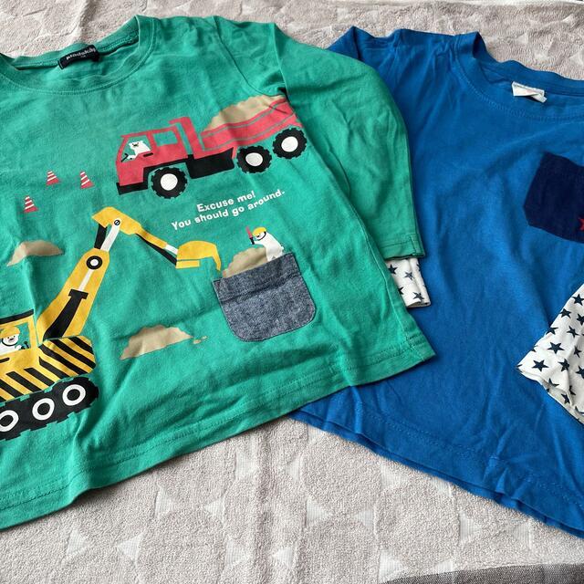 kladskap(クレードスコープ)のカットソー ロンT 110 キッズ/ベビー/マタニティのキッズ服女の子用(90cm~)(Tシャツ/カットソー)の商品写真