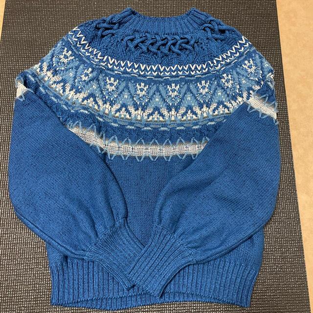 mame(マメ)のmame cotton nordic knit レディースのトップス(ニット/セーター)の商品写真