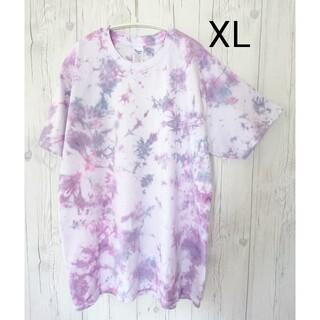 ギルタン(GILDAN)のタイダイ染め Tシャツ サイズXL(Tシャツ/カットソー(半袖/袖なし))