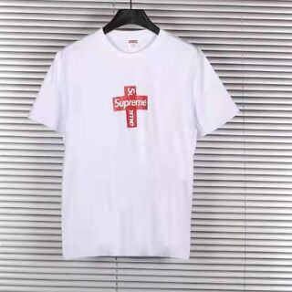 Supreme - Supreme Cross Box Logo White クロス ボックスロゴ