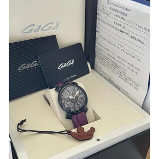 ガガミラノ(GaGa MILANO)の【⭐️2021年2月購入⭐️】ガガミラノ GaGa MILANO マヌアーレ(腕時計)