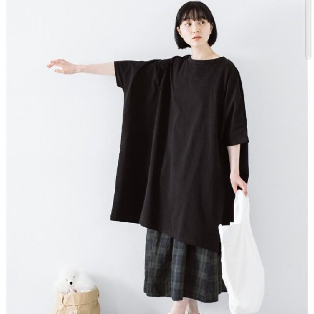 ichi ナチュラン仕様 コットンワンピース レディースのワンピース(ロングワンピース/マキシワンピース)の商品写真