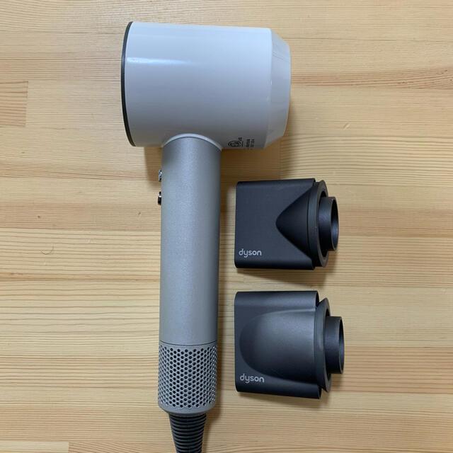 Dyson(ダイソン)のダイソン ドライヤー ホワイト 白 故障 ジャンク スマホ/家電/カメラの美容/健康(ドライヤー)の商品写真