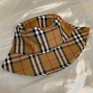 BURBERRY - Burberry バーバリー ロゴ バケットハット 帽子