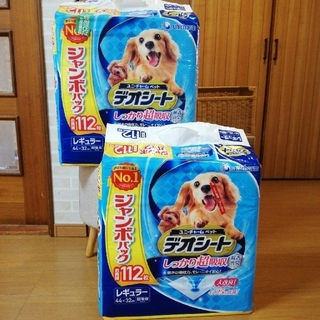 Unicharm - ユニ・チャーム デオシート 112枚×2セット