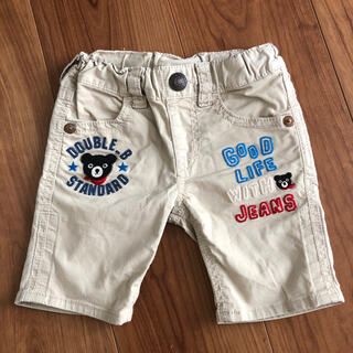 ダブルビー 半ズボン 80㎝ ハーフパンツ 男の子