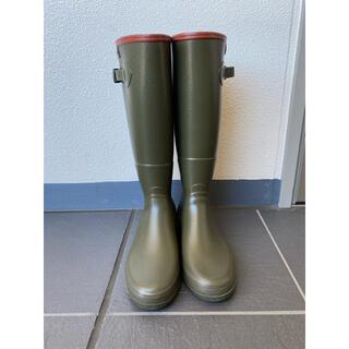 エーグル(AIGLE)のえむ様 AIGLE レインブーツ 37 美品 長靴 マッキントッシュ(レインブーツ/長靴)