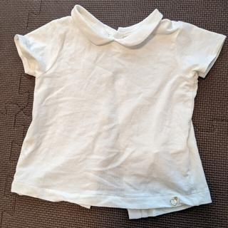 ザラ(ZARA)のZARA 半袖白シャツ (シャツ/カットソー)