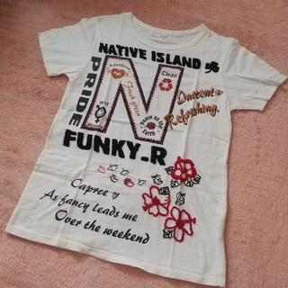 キューブシュガー(CUBE SUGAR)のC.L.N 刺繍Tシャツ(Tシャツ(半袖/袖なし))