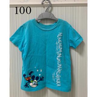 Disney - ディズニー アウラニ ミッキーマウス Tシャツ 4T