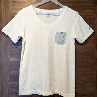 チャオパニックティピー(CIAOPANIC TYPY)のLee 白Tシャツ(Tシャツ(半袖/袖なし))