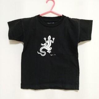 agnes b. - アニエスベー とかげ プリントTシャツ キッズ サイズS