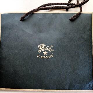 イルビゾンテ(IL BISONTE)のイルビゾンテ 紙袋(ショップ袋)