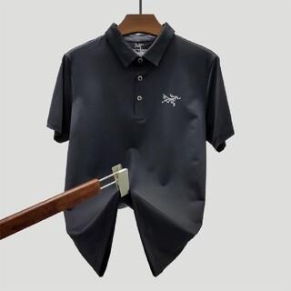 アークテリクス(ARC'TERYX)のArcteryx 上品新作 POLOシャツ 黒 M(シャツ)