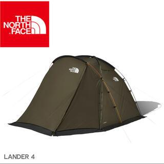 ザノースフェイス(THE NORTH FACE)のノースフェイス テント ランダー 4 グリーン LANDER 4 NV22101(テント/タープ)