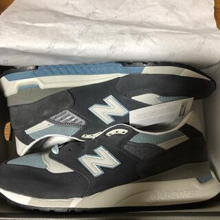 New Balance - 28.5cm KITH NEW BALANCE 998 STEEL BLUE