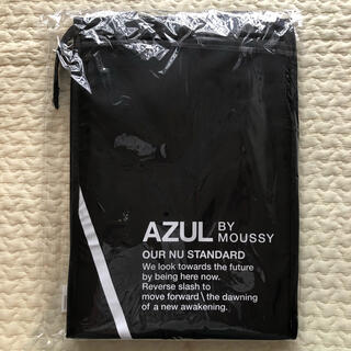 AZUL by moussy - AZUL BY MOUSSY アズール ノベルティ 保冷バック