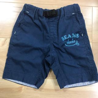 BEAMS - ビームスミニ ネイビーショートパンツ